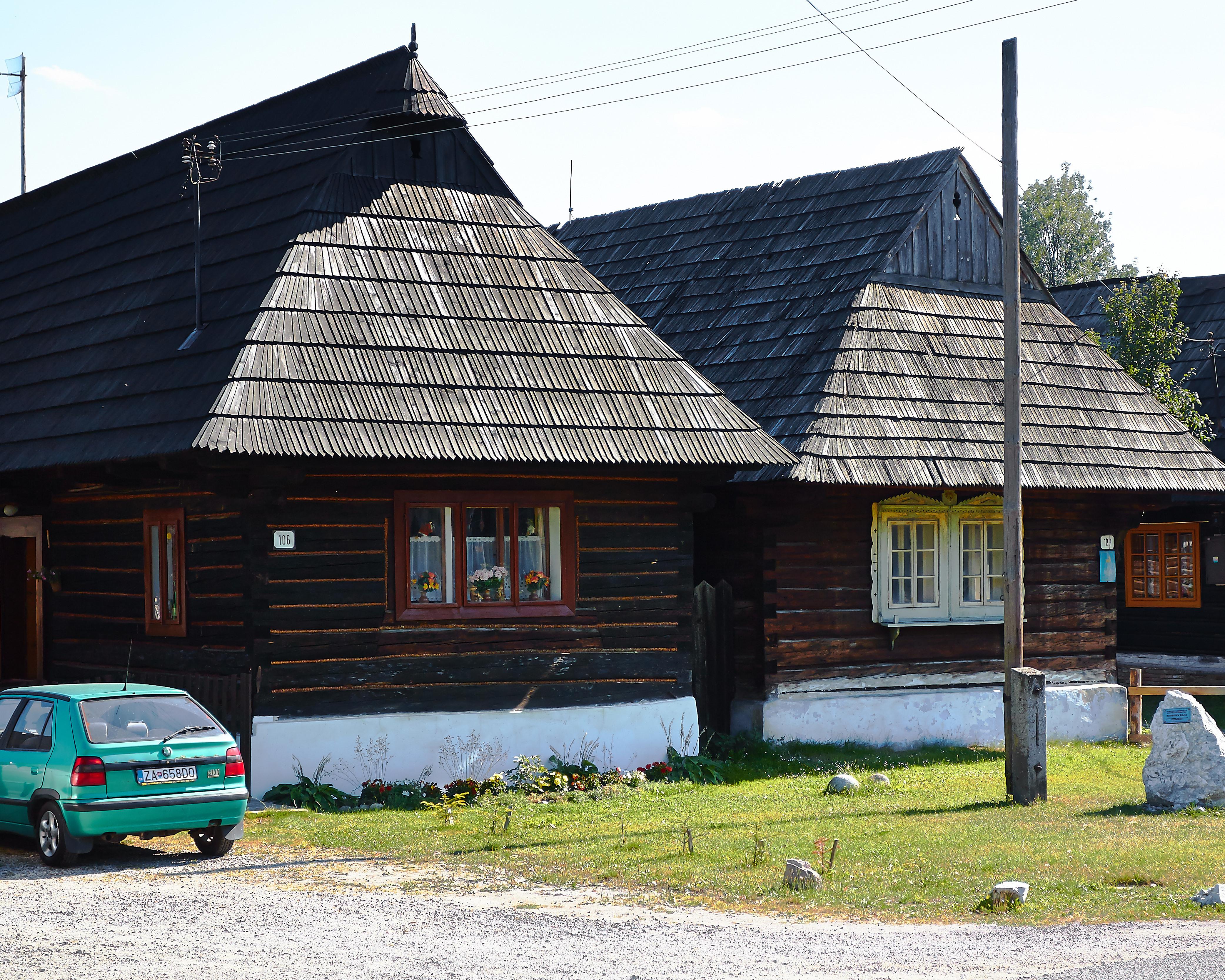 Bauernhaus in der Tatra