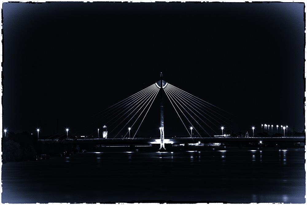 U2 Donaubrücke bei Marina-Vienna