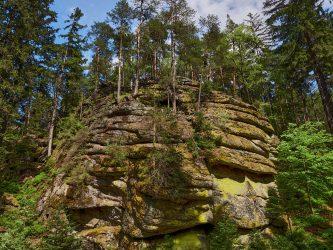 Felsen im Waldviertel